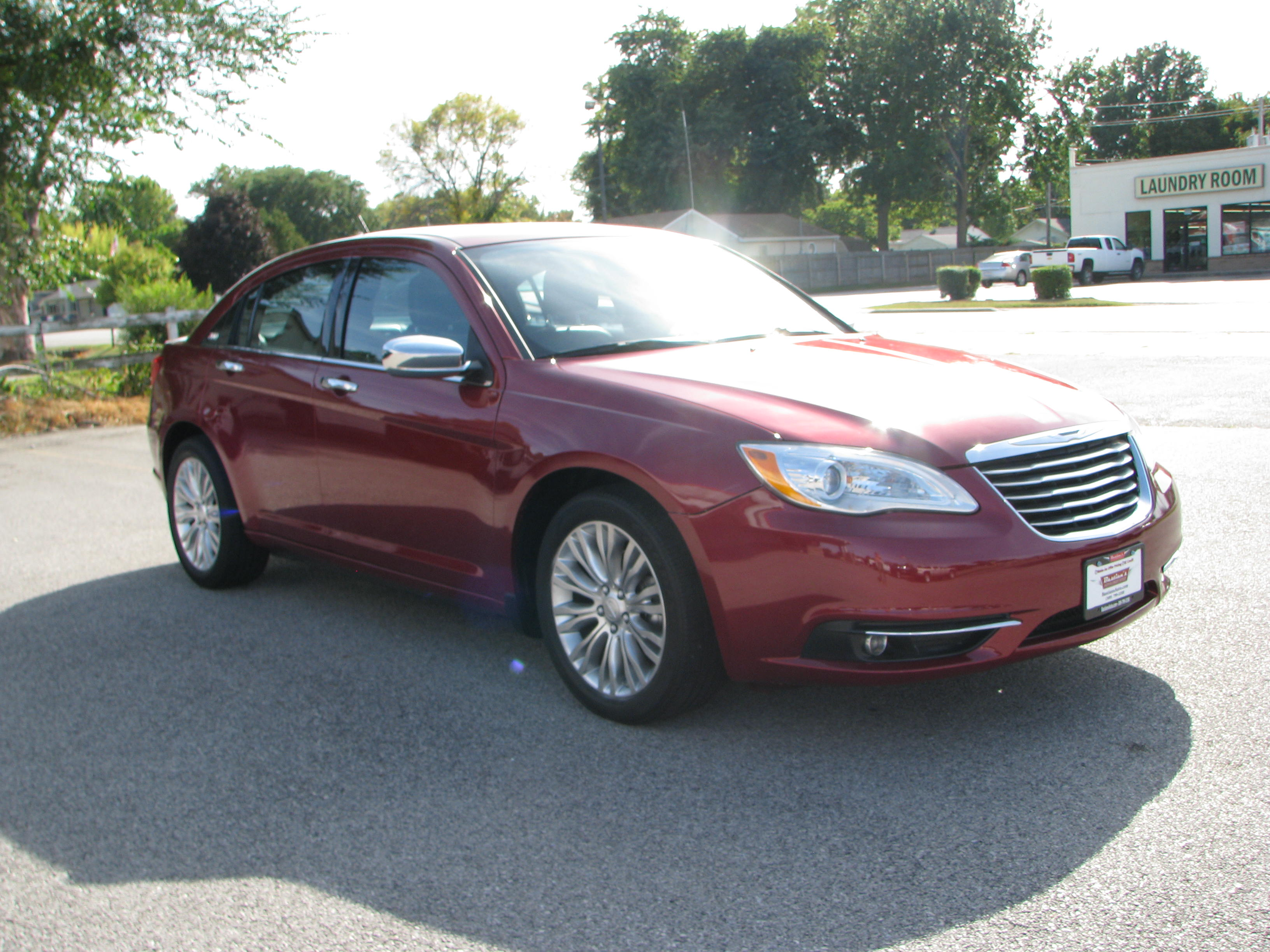 Pre Owned 2013 Chrysler 200 4d Sedan Limited 4dr Car in Coal Valley