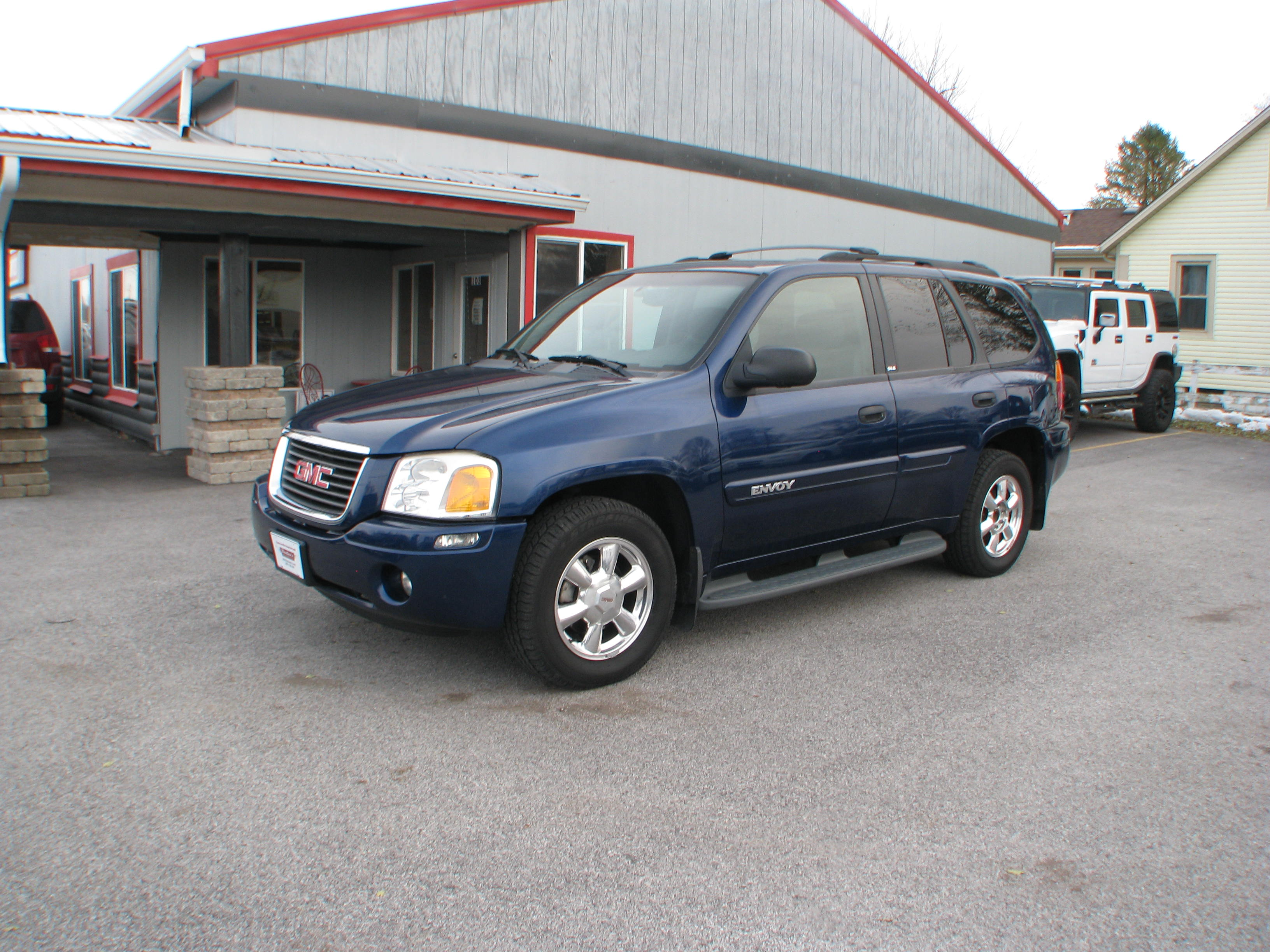 pre owned 2003 gmc envoy 4d suv 4wd sle sport utility in. Black Bedroom Furniture Sets. Home Design Ideas