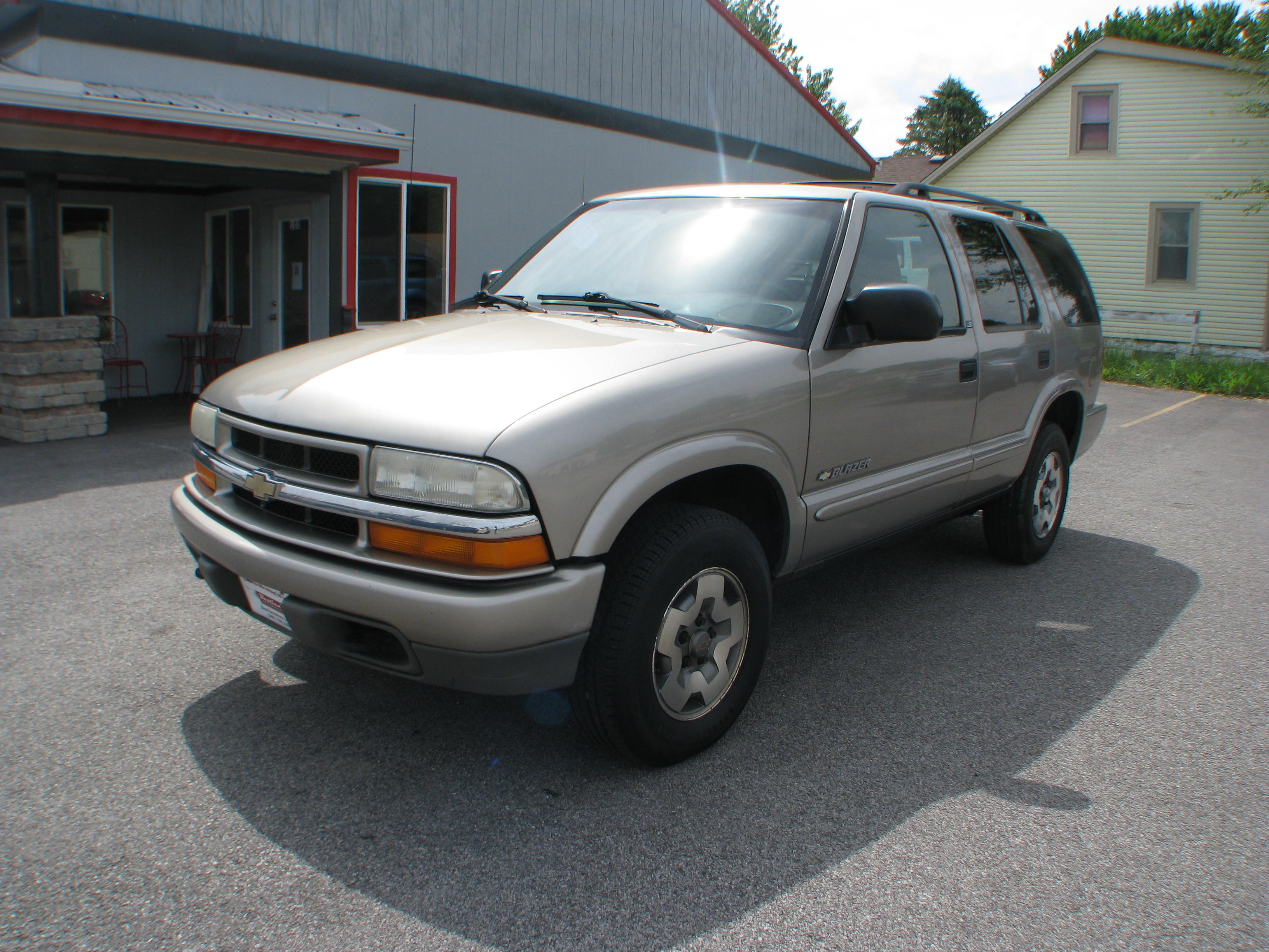 Pre Owned 2003 Chevrolet Blazer 4d SUV 4WD LS Sport Utility in Coal
